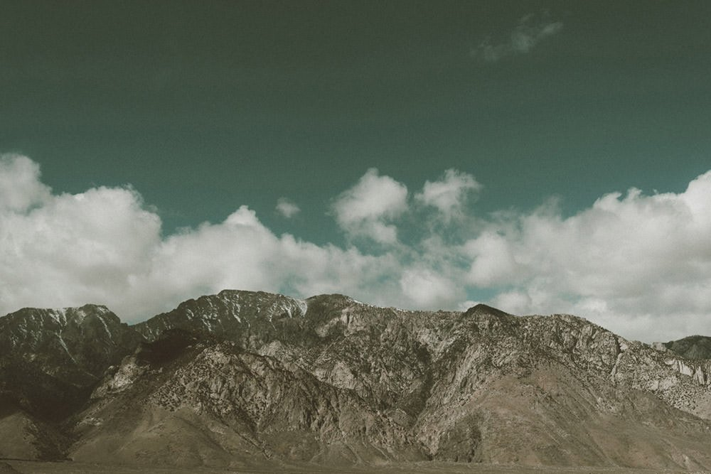 Death Valley Mountains Photographic Print - Wall Art by Deb Boots