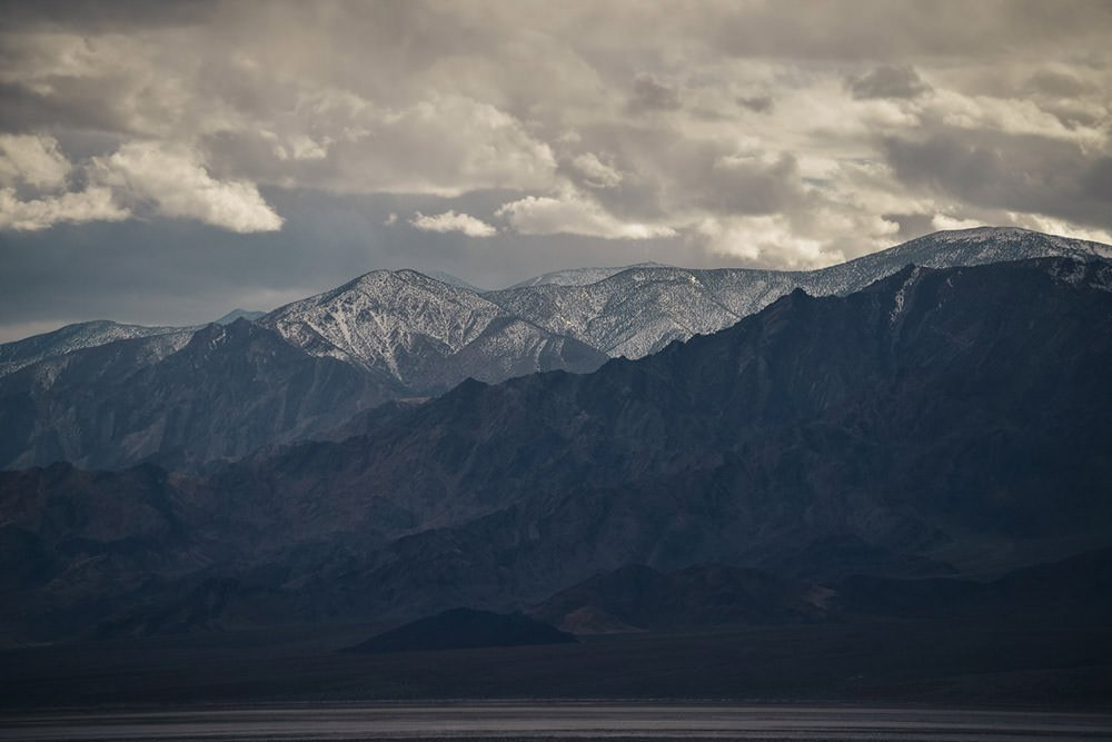 Snow Capped Mountains Photographic Print - Wall Art by Deb Boots