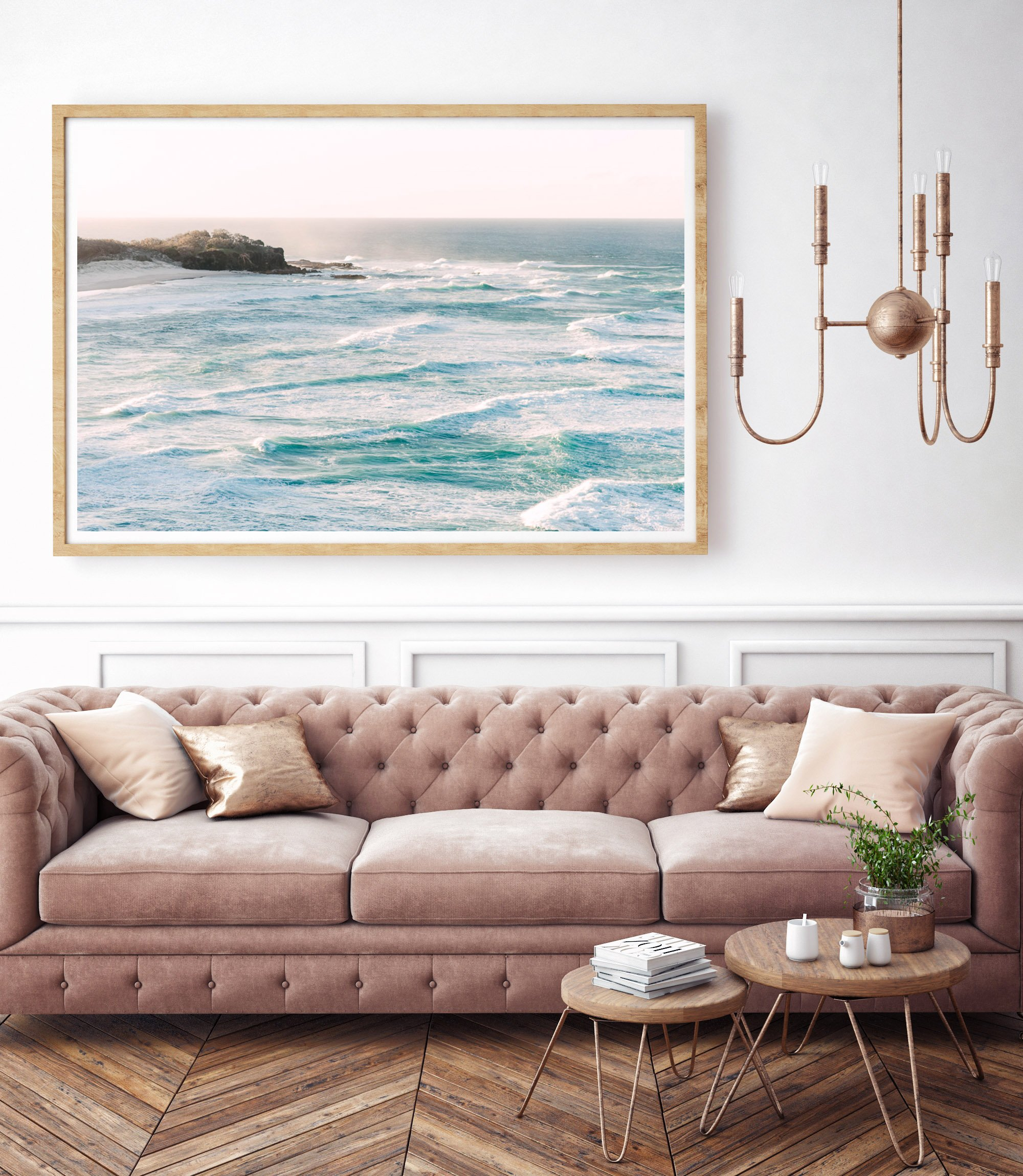 coastal inspired limited edition print for modern beach house interiors