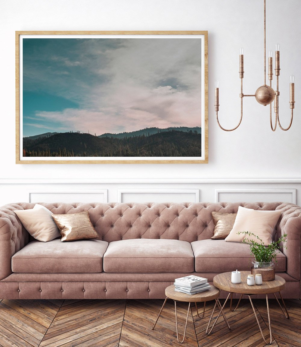 Landscape Photographic Print Wall Art Living Room Home Interior Decor by Deb Boots
