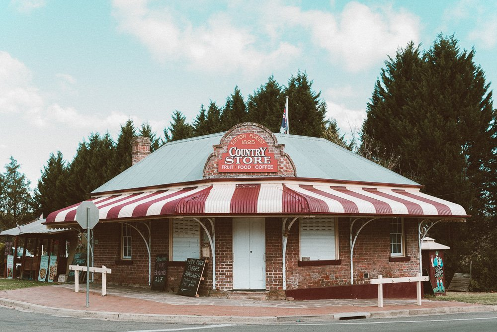 Country Store at Sutton Forest in the Southern Highlands