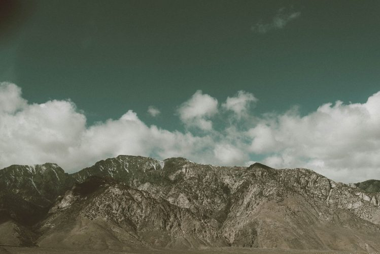 Wall Art Photographic Print - Californian desert series Mountains