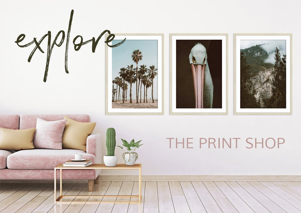 "Photographic Prints & Wall Art - The Print Shop full of unique wall art for your home"" width="