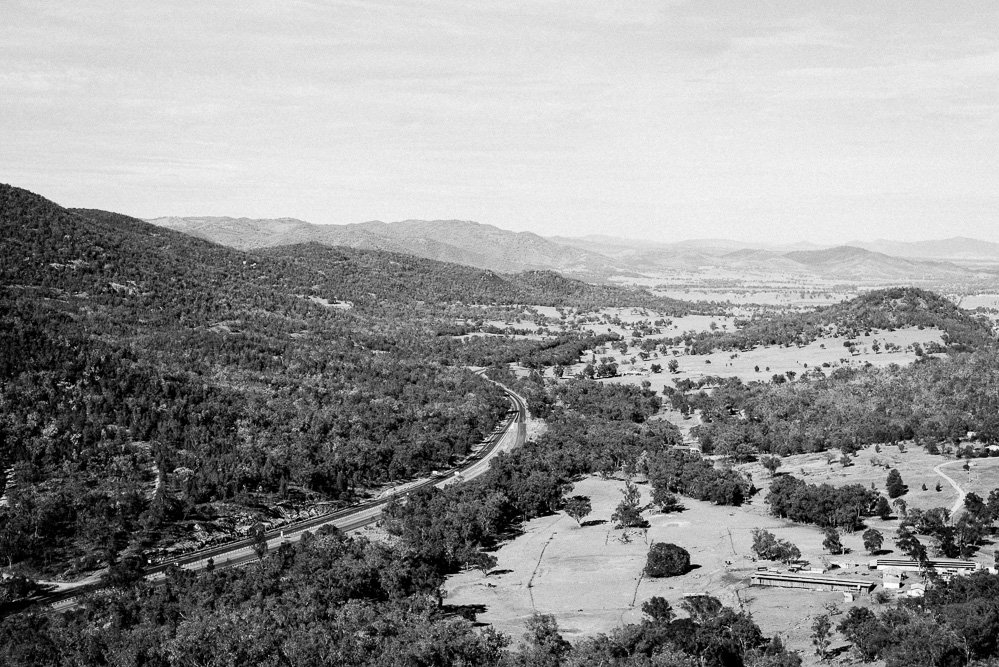 View from Moonbi Lookout near Toowoomba - NSW Country photographer Deb Boots