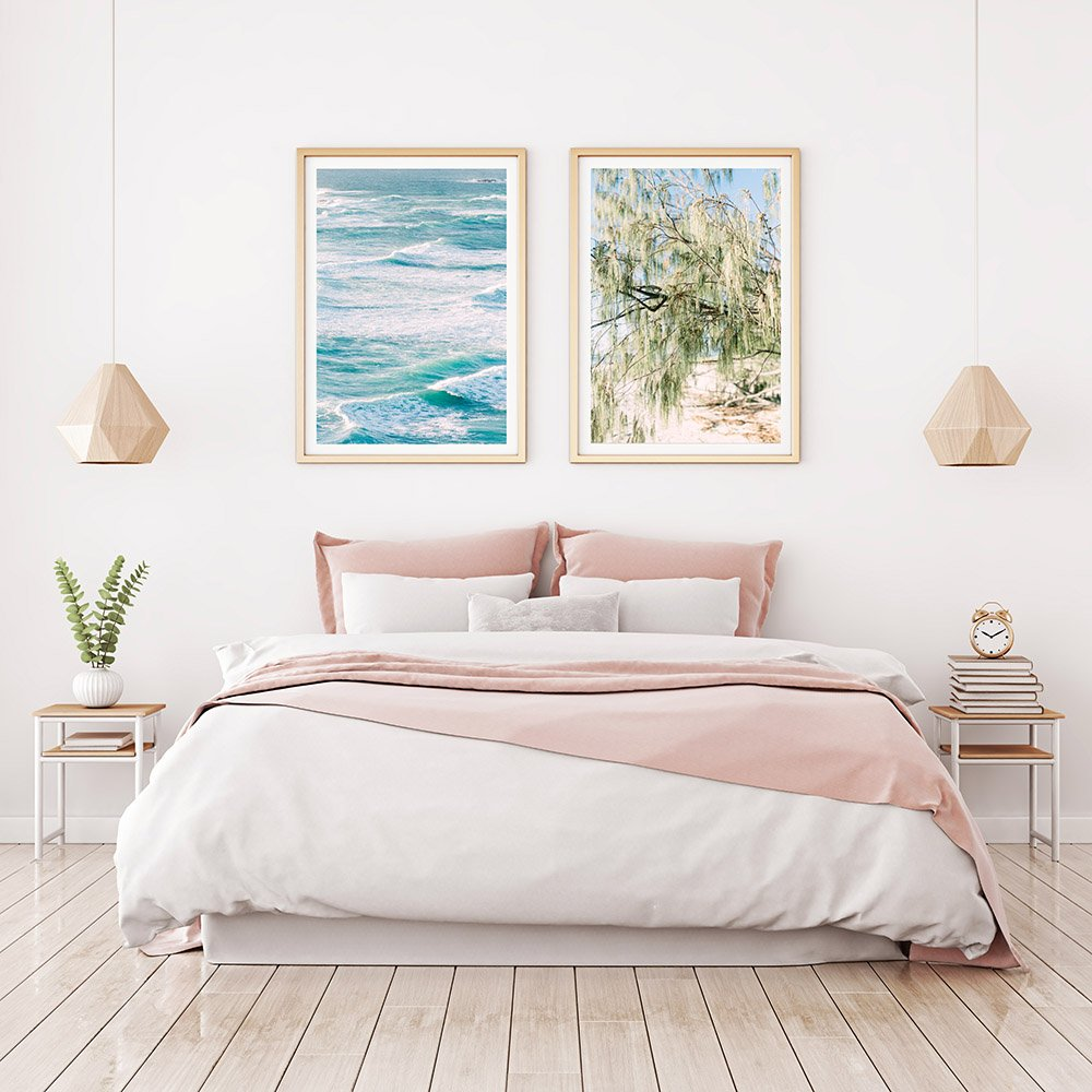 Beach Prints - wall art hanging in Bedroom